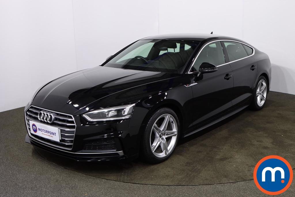 Audi A5 2.0 TFSI S Line 5dr - Stock Number 1180835 Passenger side front corner