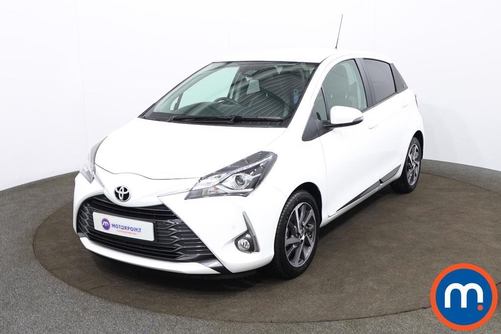 Toyota Yaris 1.5 VVT-i Y20 5dr CVT [Mono-tone] - Stock Number 1184635 Passenger side front corner