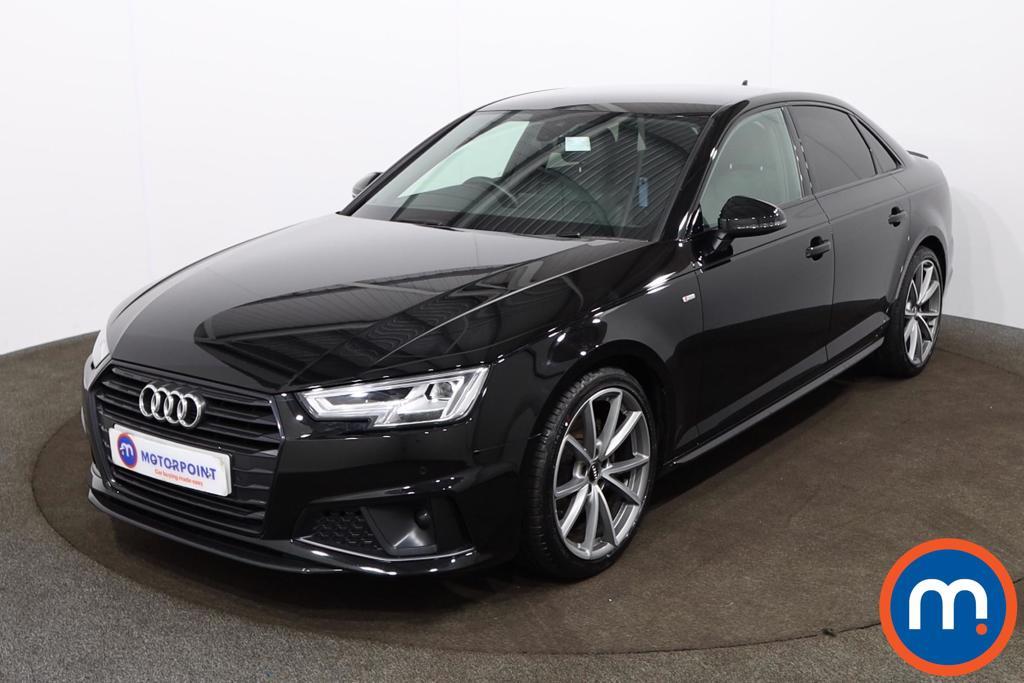 Audi A4 35 TFSI Black Edition 4dr - Stock Number 1182735 Passenger side front corner