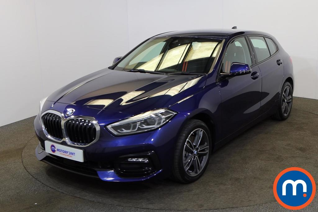 BMW 1 Series 118d Sport 5dr - Stock Number 1175219 Passenger side front corner