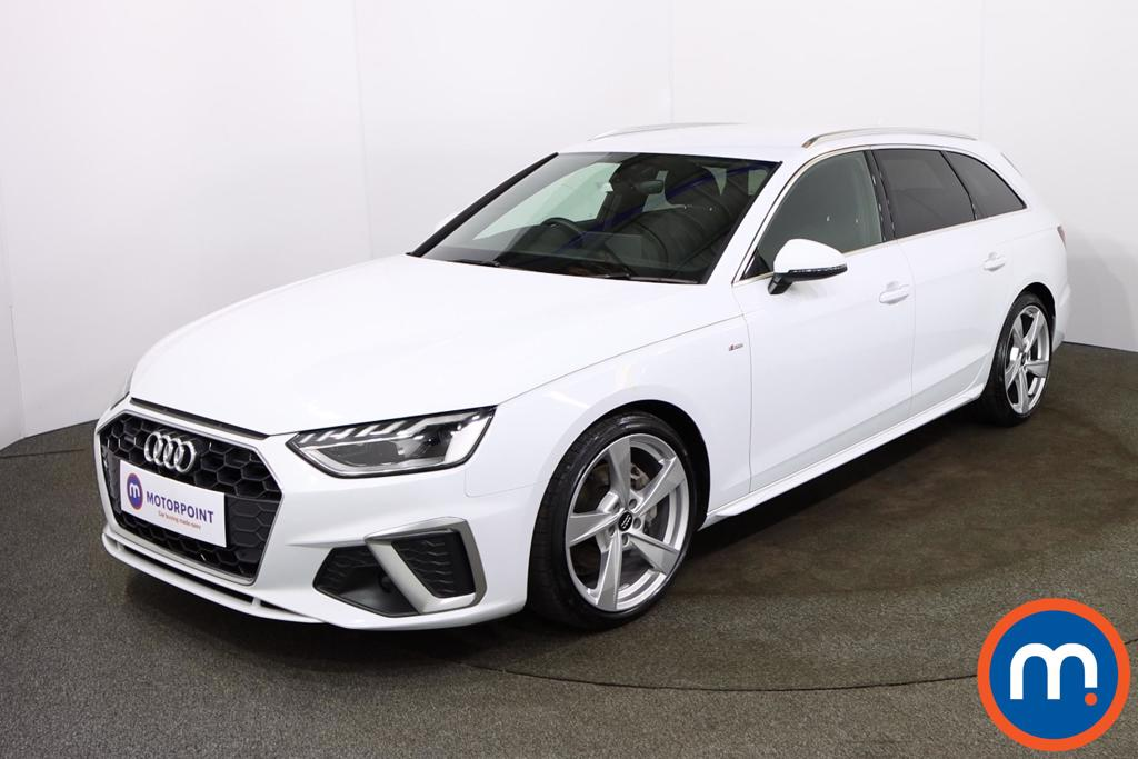 Audi A4 40 TDI Quattro S Line 5dr S Tronic - Stock Number 1177950 Passenger side front corner