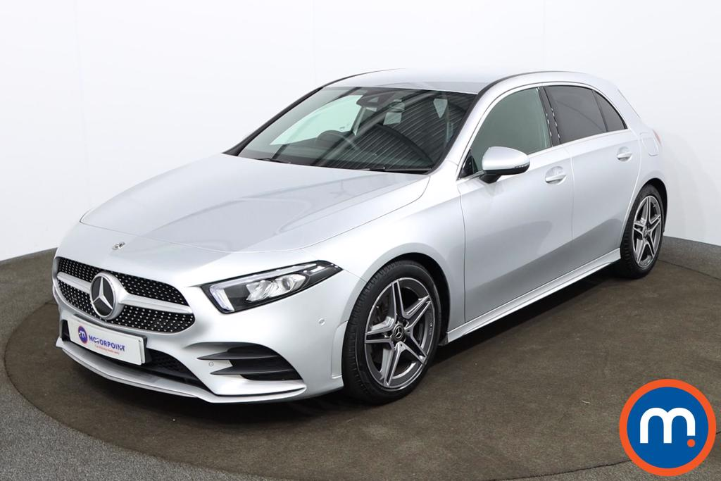 Mercedes-Benz A Class A180 AMG Line Executive 5dr - Stock Number 1181705 Passenger side front corner