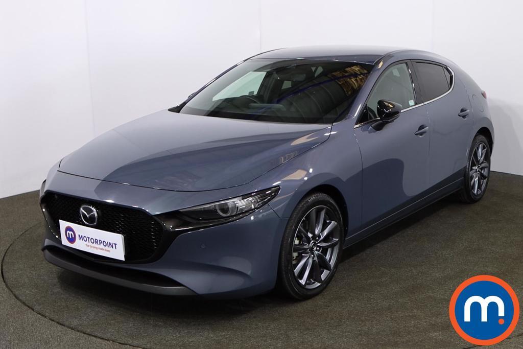 Mazda 3 2.0 Skyactiv G MHEV GT Sport Tech 5dr - Stock Number 1183419 Passenger side front corner