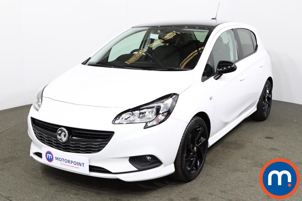Vauxhall Corsa 1.4 SRi Vx-line Nav Black 5dr - Stock Number 1178524 Passenger side front corner