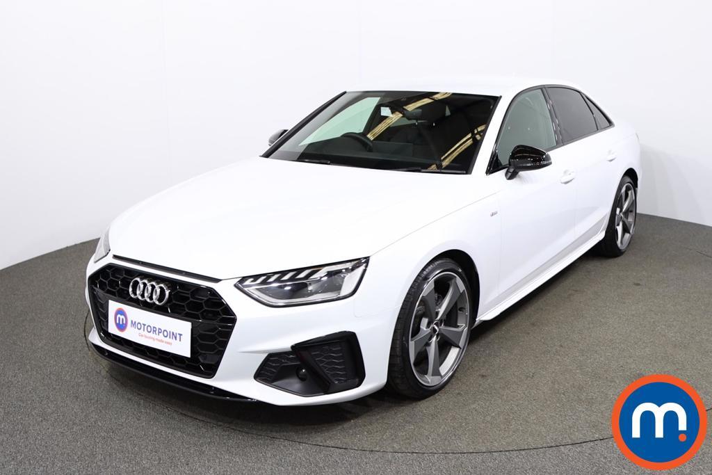 Audi A4 35 TFSI Black Edition 4dr - Stock Number 1179978 Passenger side front corner