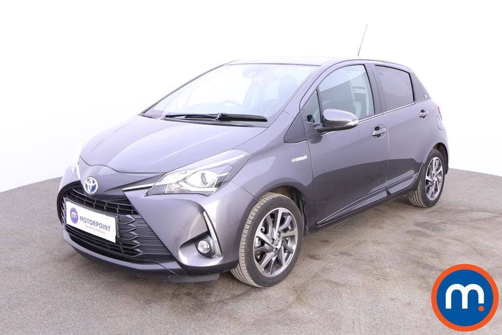 Toyota Yaris 1.5 Hybrid Y20 5dr CVT [Mono-tone] - Stock Number 1181849 Passenger side front corner