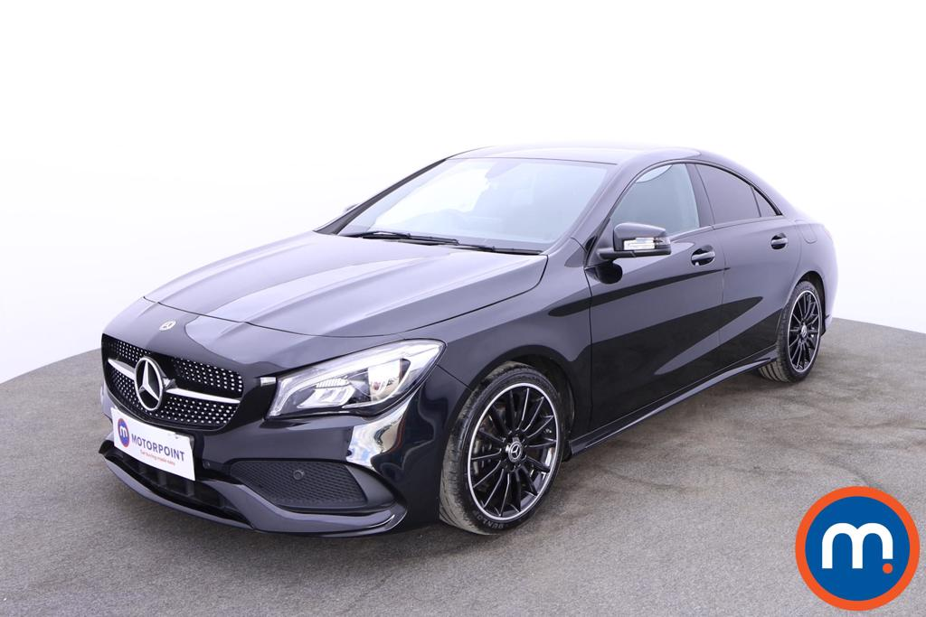 Mercedes-Benz CLA CLA 200 AMG Line Night Edition 4dr - Stock Number 1185455 Passenger side front corner