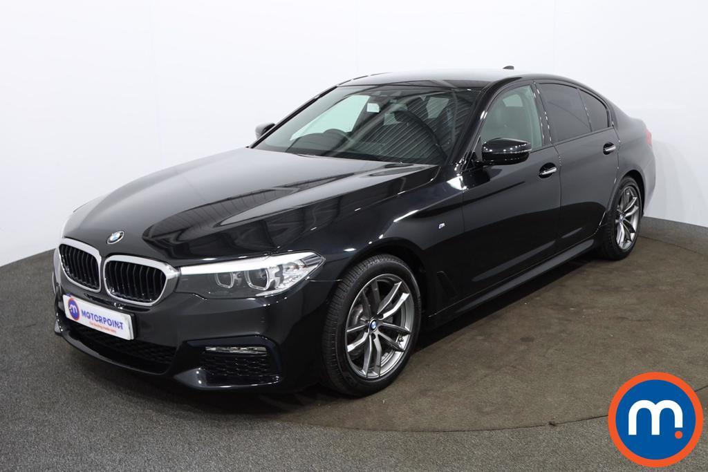 BMW 5 Series 520d M Sport 4dr Auto - Stock Number 1144306 Passenger side front corner