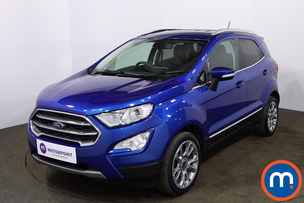 Ford Ecosport 1.0 EcoBoost 125 Titanium 5dr - Stock Number 1186085 Passenger side front corner