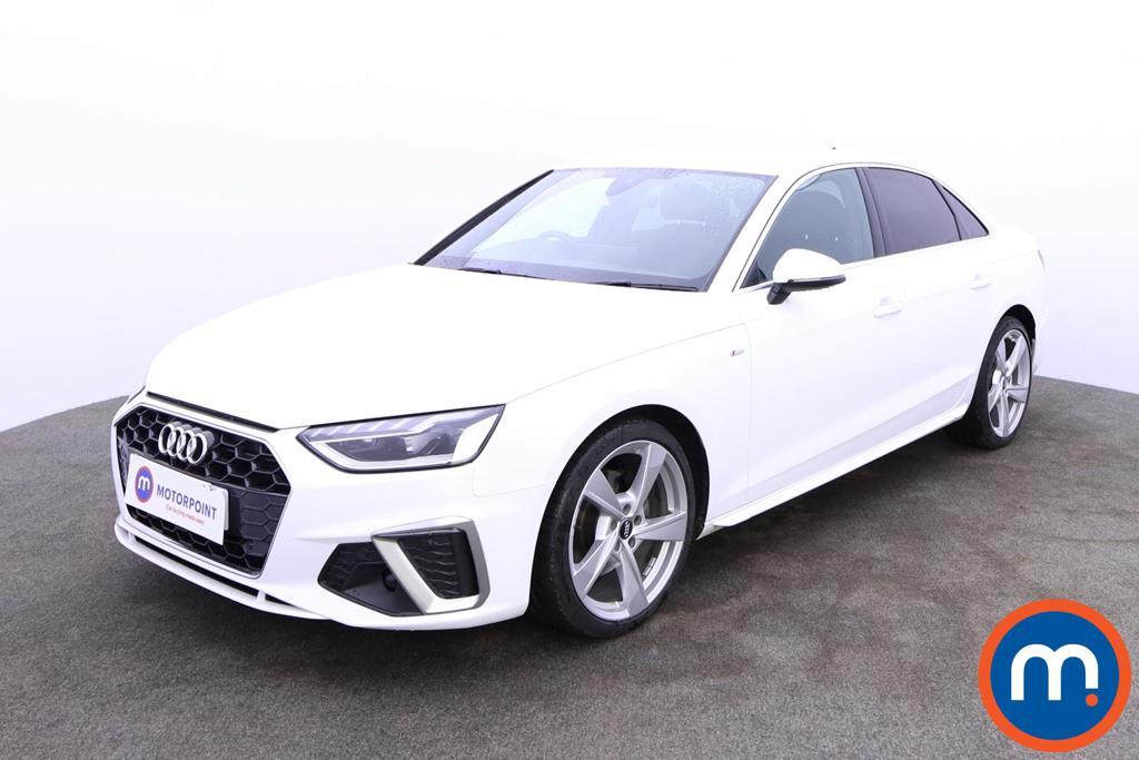 Audi A4 35 TFSI S Line 4dr - Stock Number 1186868 Passenger side front corner