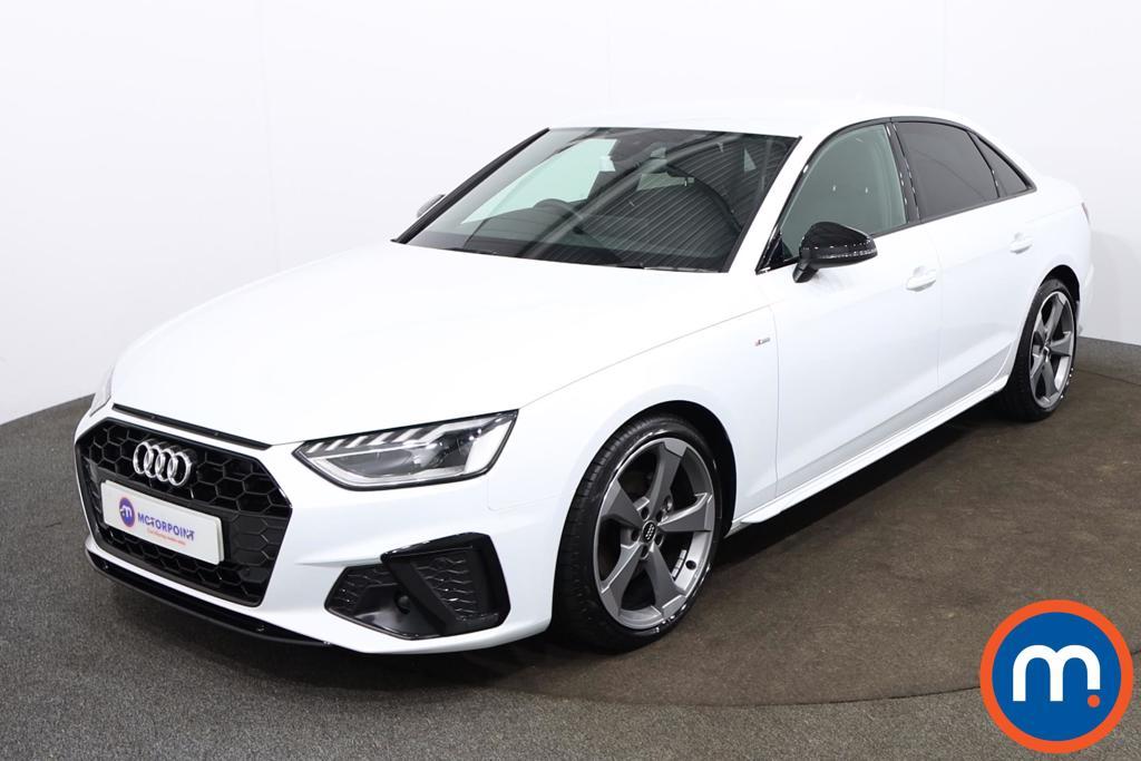 Audi A4 35 TFSI Black Edition 4dr - Stock Number 1179968 Passenger side front corner
