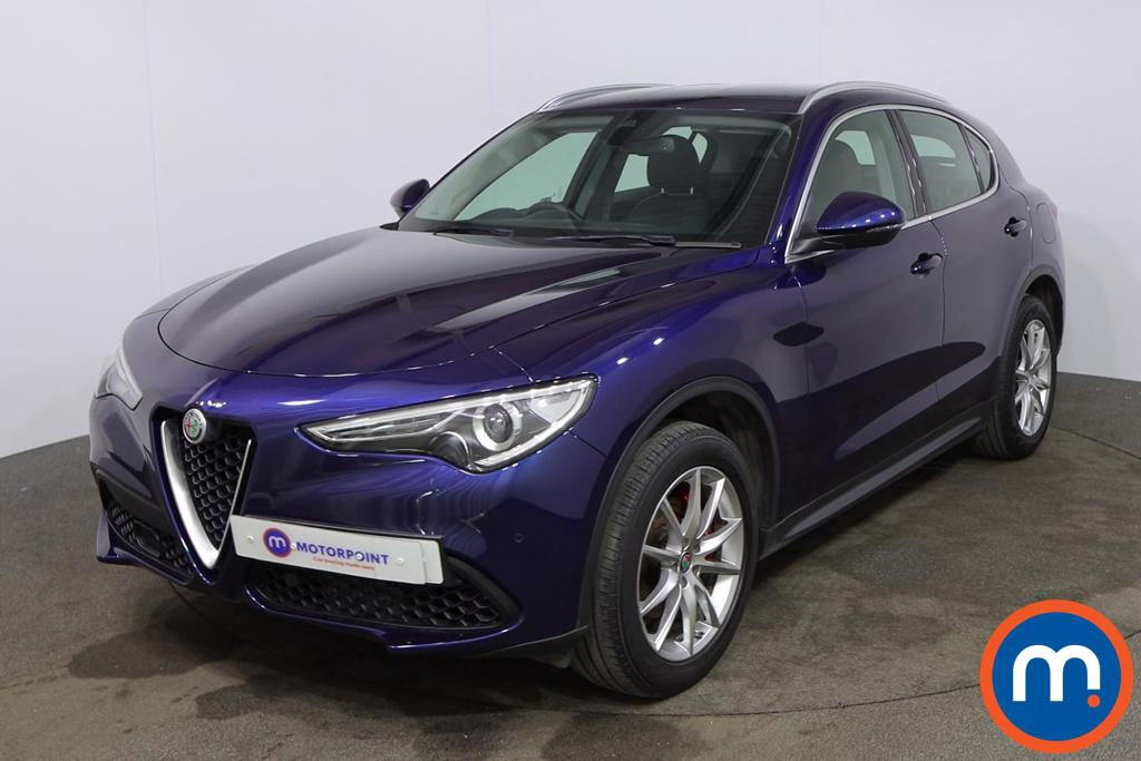 Alfa Romeo Stelvio 2.0 Turbo 280 Speciale 5dr Auto - Stock Number 1180438 Passenger side front corner