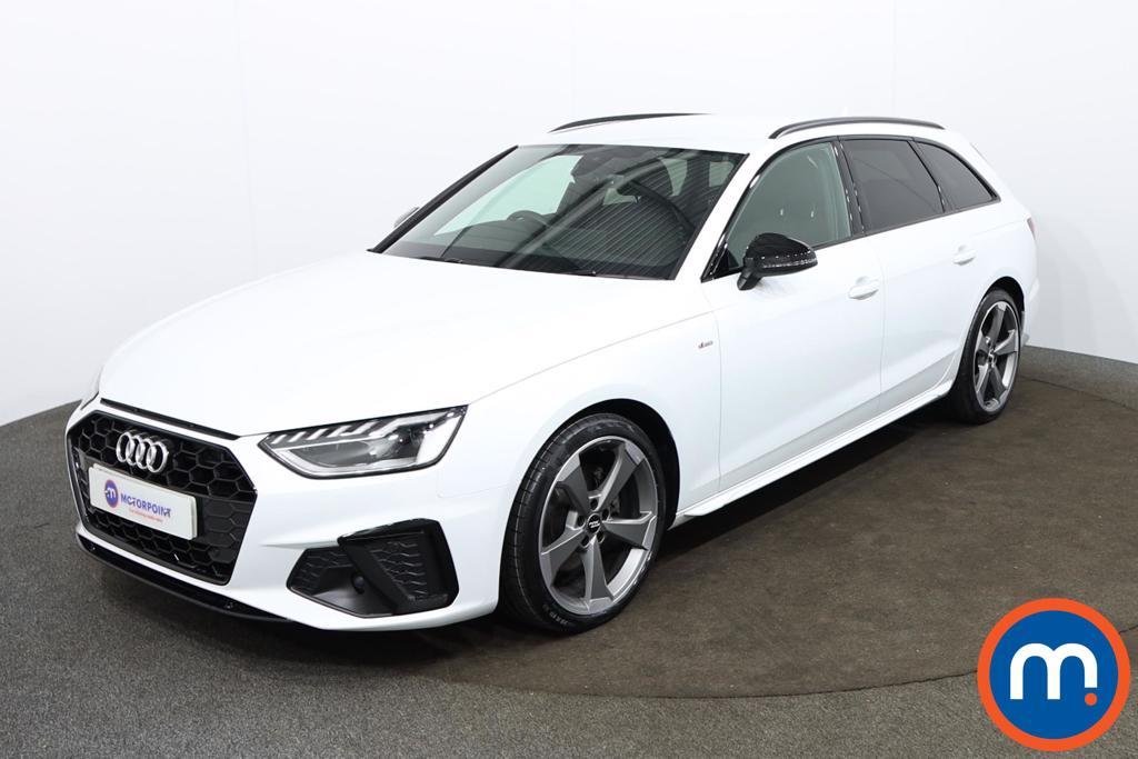 Audi A4 35 TDI Black Edition 5dr S Tronic - Stock Number 1188143 Passenger side front corner