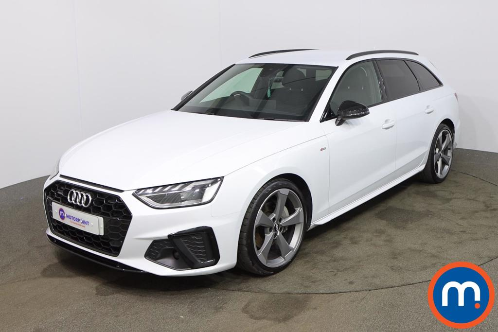 Audi A4 40 TDI Quattro Black Edition 5dr S Tronic - Stock Number 1187829 Passenger side front corner