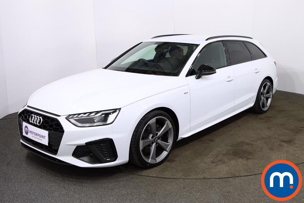 Audi A4 35 TDI Black Edition 5dr S Tronic - Stock Number 1188114 Passenger side front corner