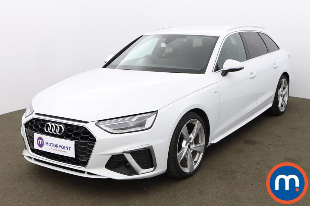 Audi A4 35 TFSI S Line 5dr S Tronic - Stock Number 1187697 Passenger side front corner