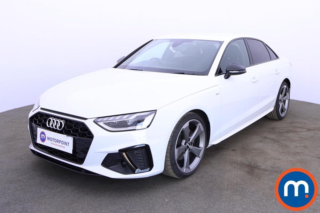 Audi A4 35 TFSI Black Edition 4dr - Stock Number 1179970 Passenger side front corner