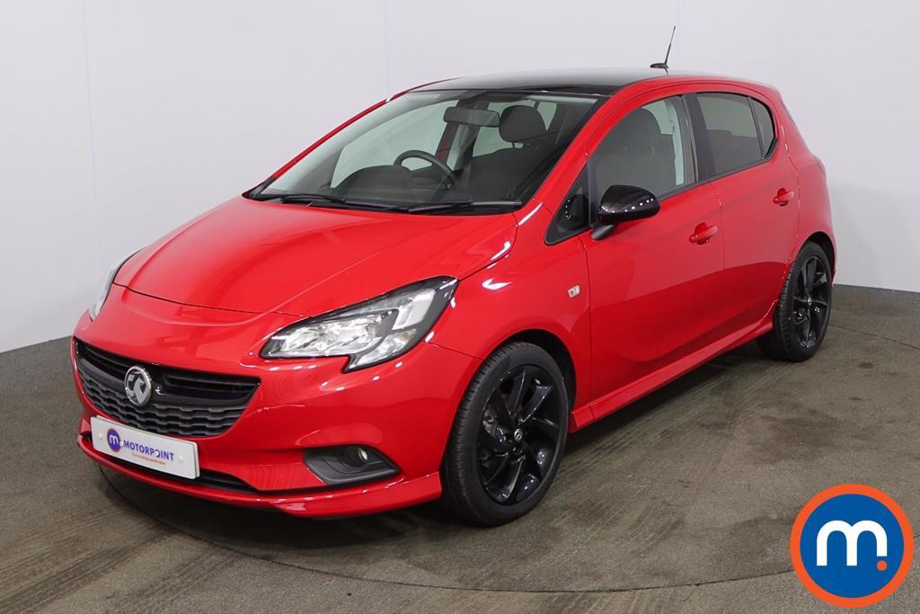 Vauxhall Corsa 1.4 SRi Vx-line Nav Black 5dr - Stock Number 1184342 Passenger side front corner