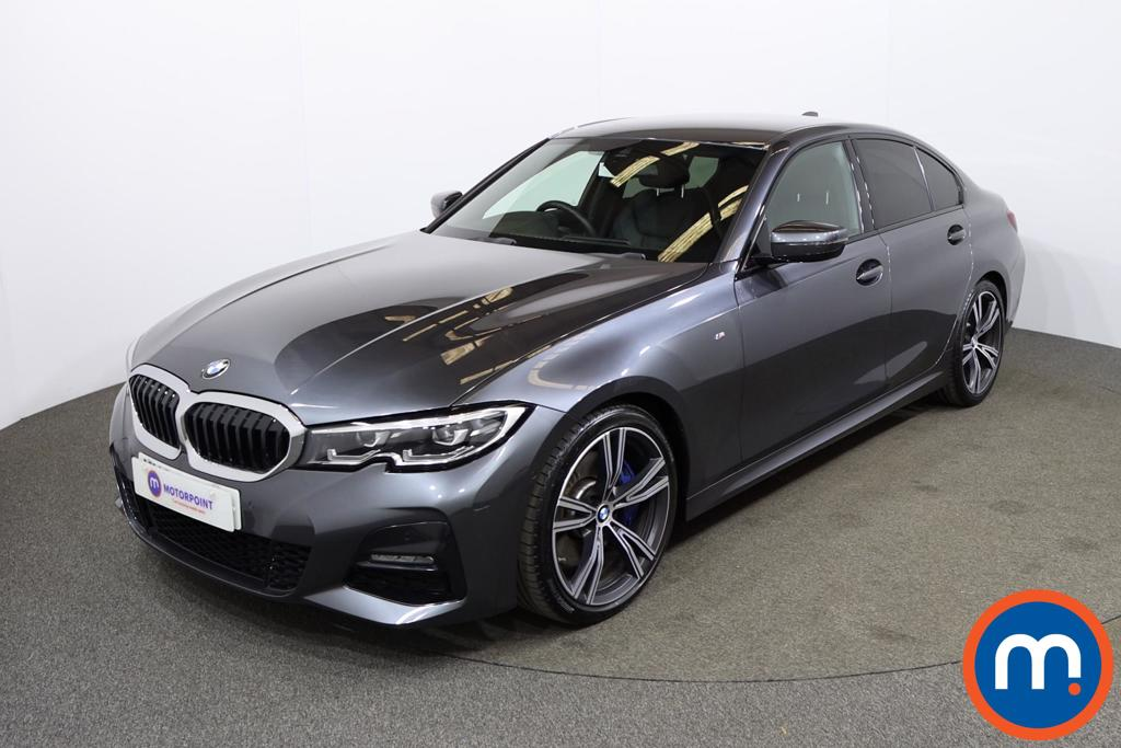 BMW 3 Series 330i M Sport 4dr Step Auto - Stock Number 1186830 Passenger side front corner