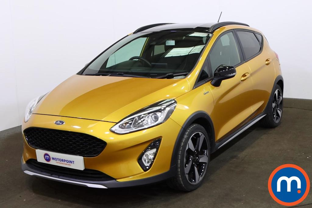 Ford Fiesta 1.0 EcoBoost Active B-PlusO Play 5dr - Stock Number 1189201 Passenger side front corner