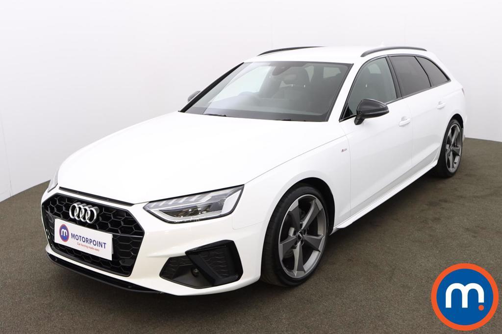 Audi A4 35 TDI Black Edition 5dr S Tronic - Stock Number 1188127 Passenger side front corner