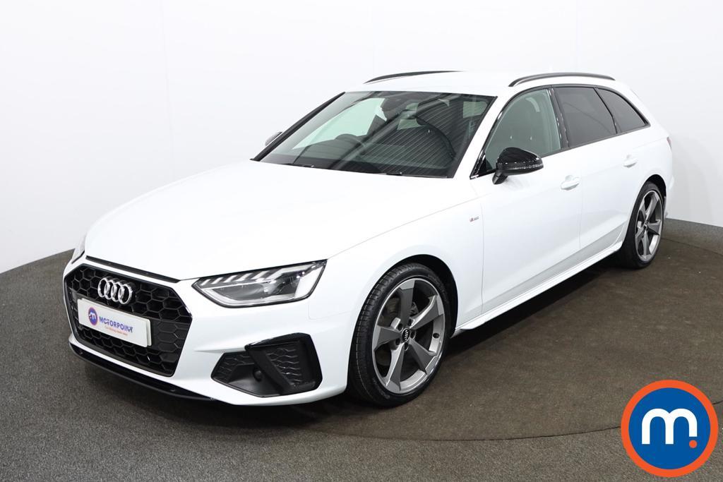 Audi A4 35 TDI Black Edition 5dr S Tronic - Stock Number 1188135 Passenger side front corner