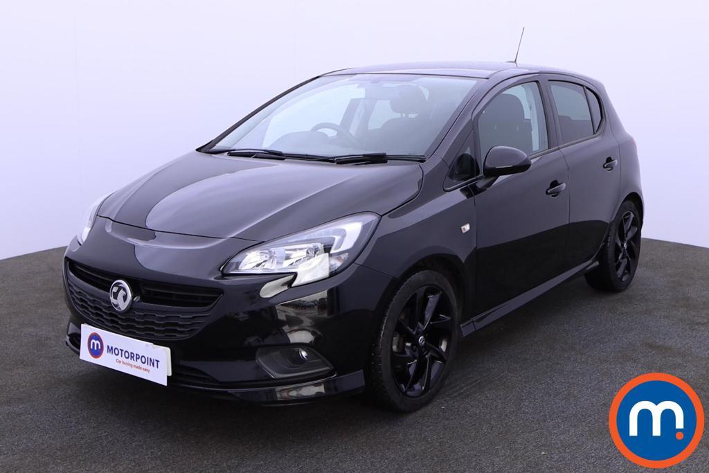 Vauxhall Corsa 1.4 SRi Vx-line Nav Black 5dr - Stock Number 1188630 Passenger side front corner