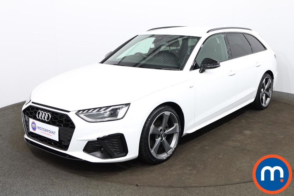Audi A4 35 TDI Black Edition 5dr S Tronic - Stock Number 1188137 Passenger side front corner