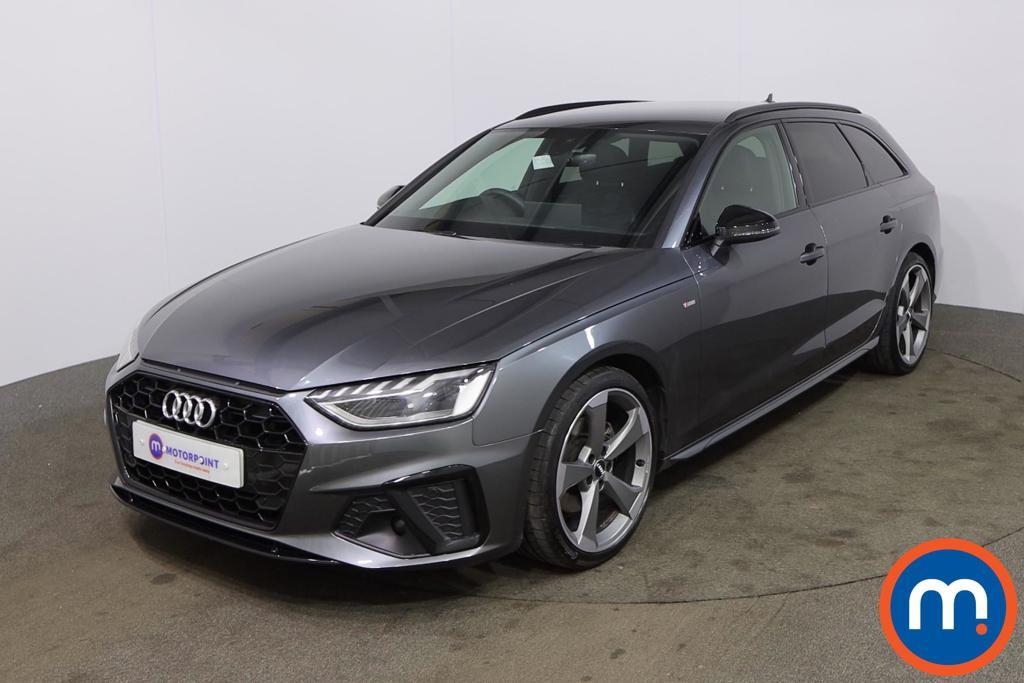 Audi A4 35 TDI Black Edition 5dr S Tronic - Stock Number 1188065 Passenger side front corner