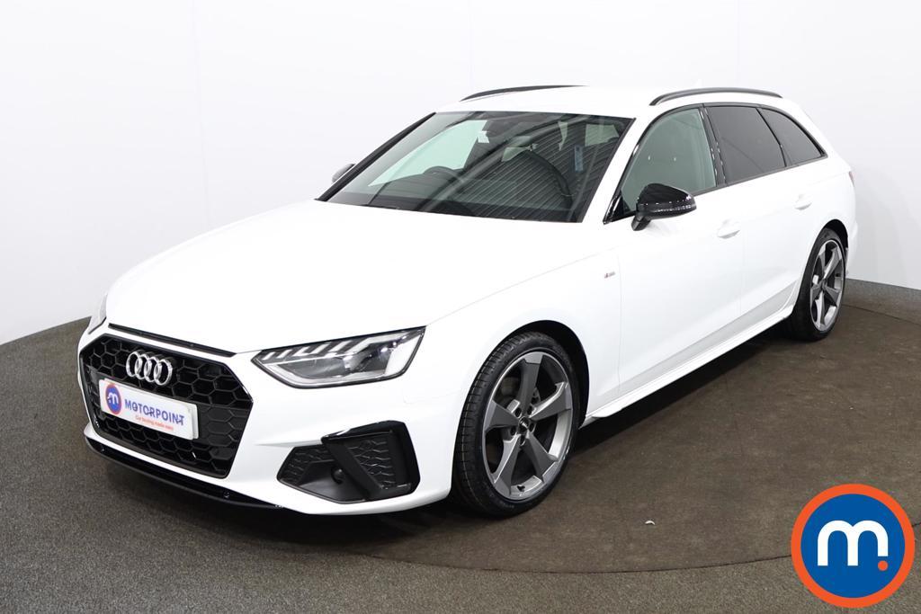 Audi A4 35 TDI Black Edition 5dr S Tronic - Stock Number 1188144 Passenger side front corner