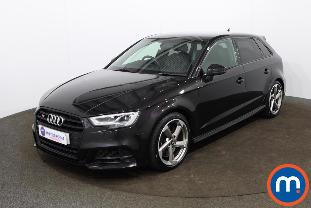 Audi A3 S3 TFSI Quattro Black Edition 5dr S Tronic - Stock Number 1189335 Passenger side front corner