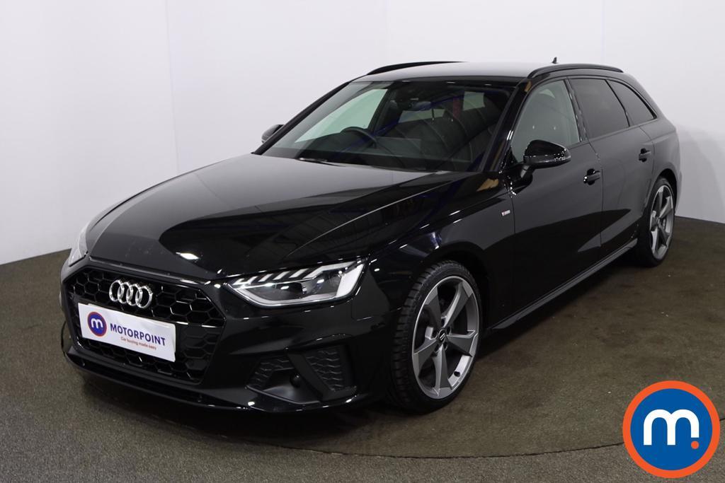Audi A4 35 TDI Black Edition 5dr S Tronic - Stock Number 1188116 Passenger side front corner