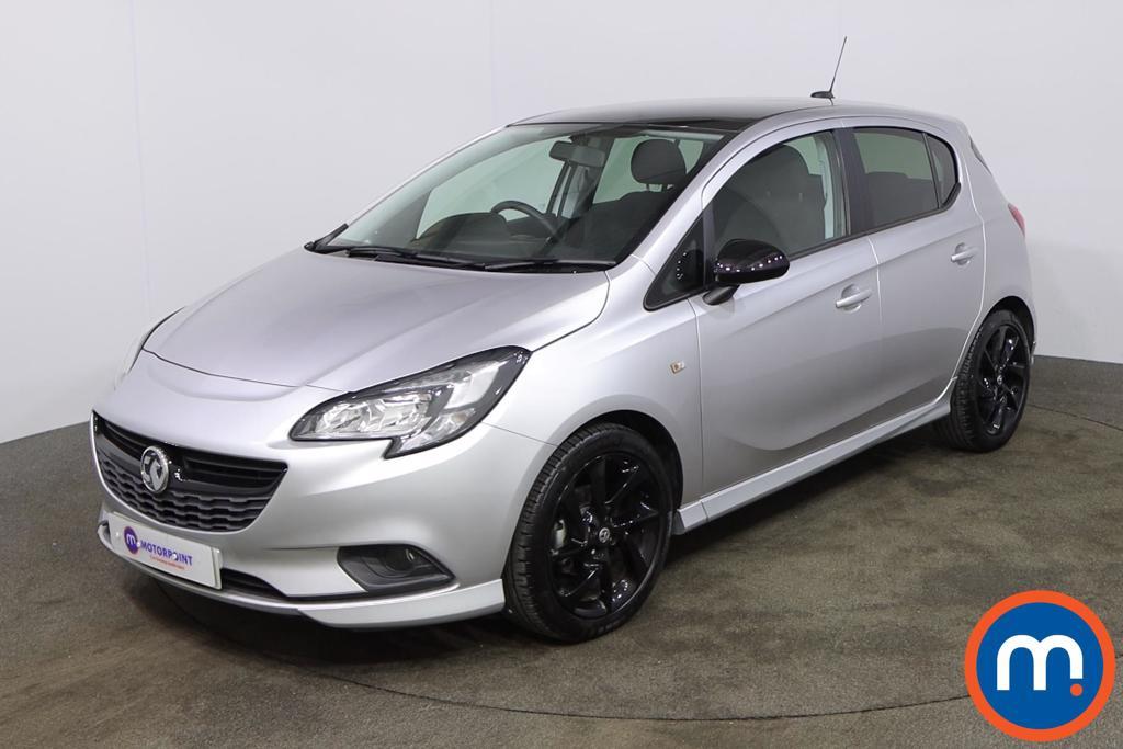 Vauxhall Corsa 1.4 SRi Vx-line Nav Black 5dr - Stock Number 1188563 Passenger side front corner