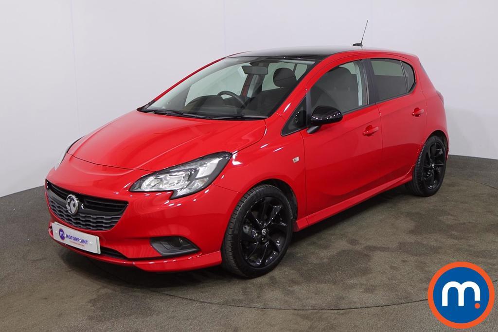 Vauxhall Corsa 1.4 SRi Vx-line Nav Black 5dr - Stock Number 1188566 Passenger side front corner