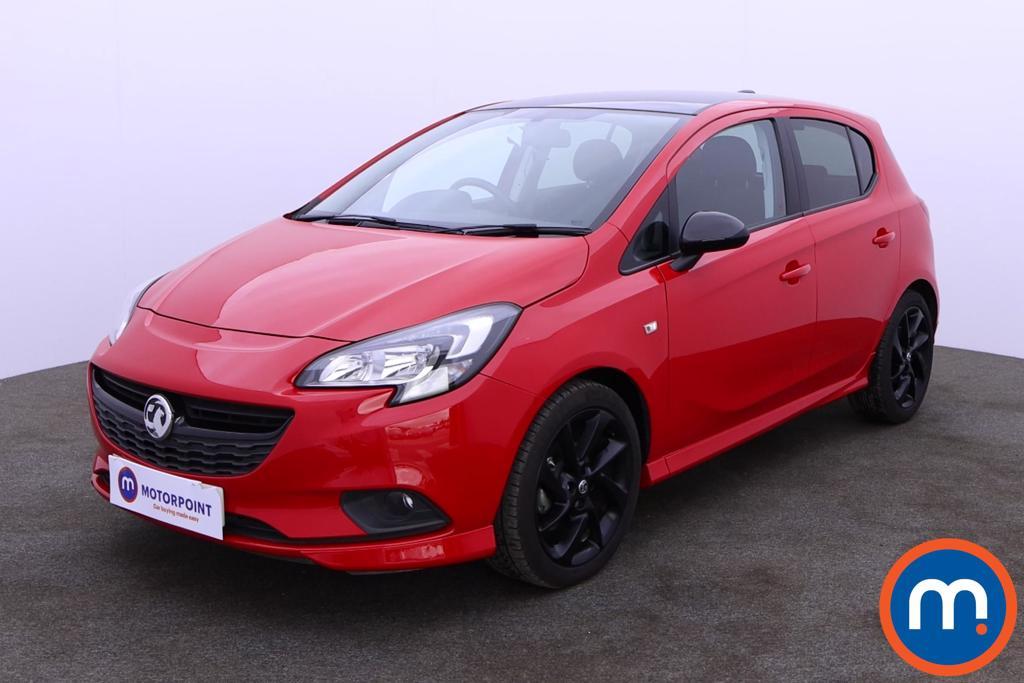 Vauxhall Corsa 1.4 SRi Vx-line Nav Black 5dr - Stock Number 1188626 Passenger side front corner