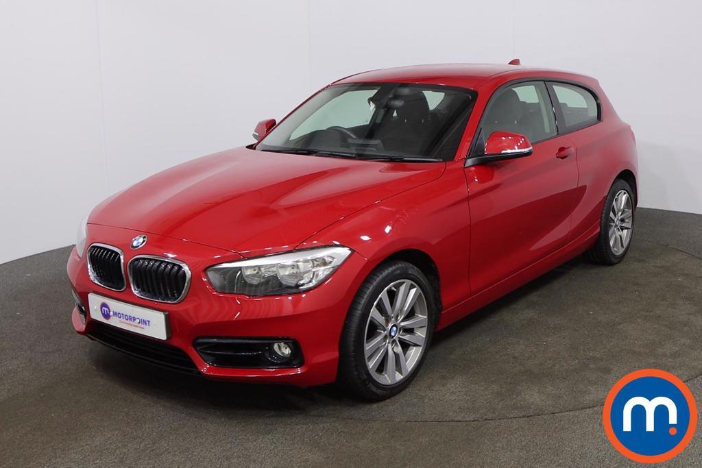 BMW 1 Series 118d Sport 3dr [Nav-Servotronic] - Stock Number 1187742 Passenger side front corner