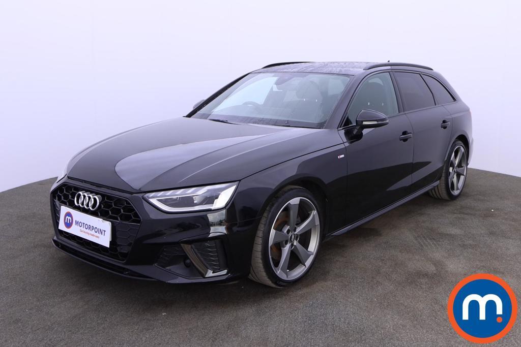 Audi A4 35 TDI Black Edition 5dr S Tronic - Stock Number 1188154 Passenger side front corner