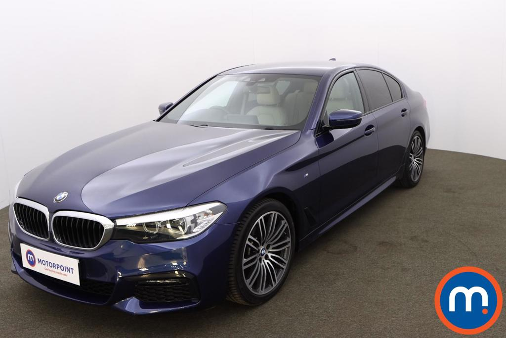 BMW 5 Series 530i M Sport 4dr Auto - Stock Number 1189438 Passenger side front corner