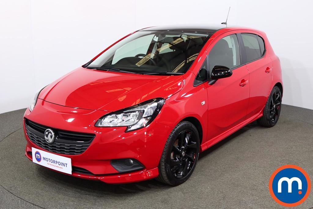 Vauxhall Corsa 1.4 SRi Vx-line Nav Black 5dr - Stock Number 1188621 Passenger side front corner