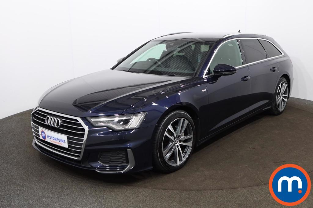 Audi A6 40 TDI S Line 5dr S Tronic [Tech Pack] - Stock Number 1190154 Passenger side front corner