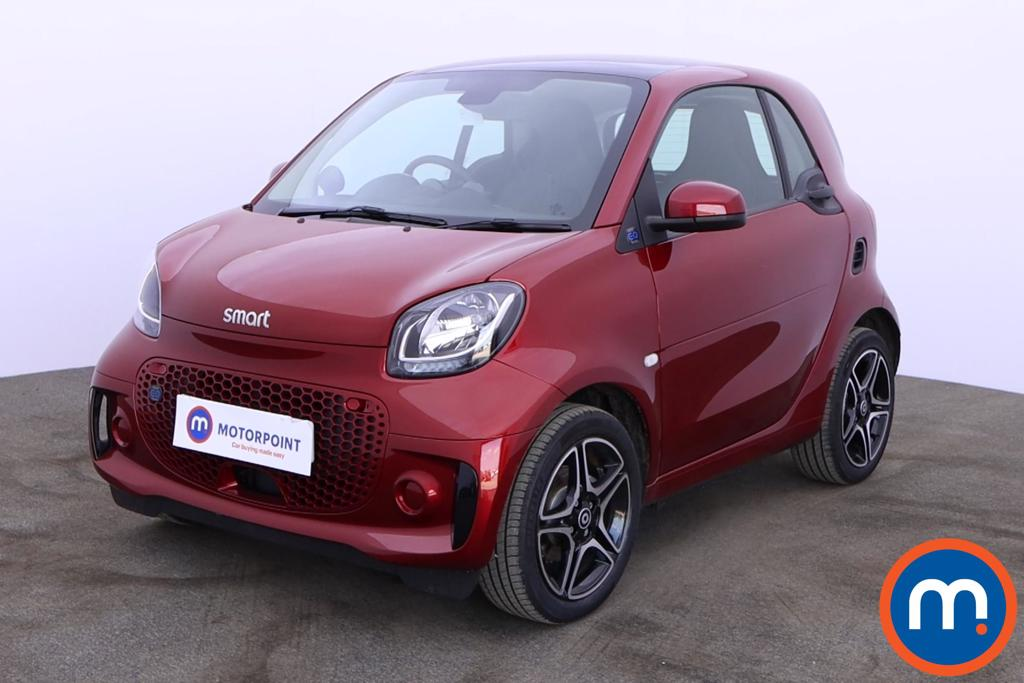 Smart Fortwo Coupe 60kW EQ Premium 17kWh 2dr Auto [22kWCh] - Stock Number 1190448 Passenger side front corner
