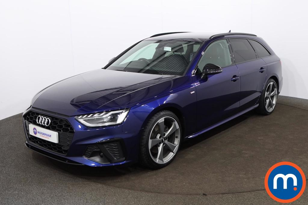 Audi A4 35 TDI Black Edition 5dr S Tronic - Stock Number 1188149 Passenger side front corner