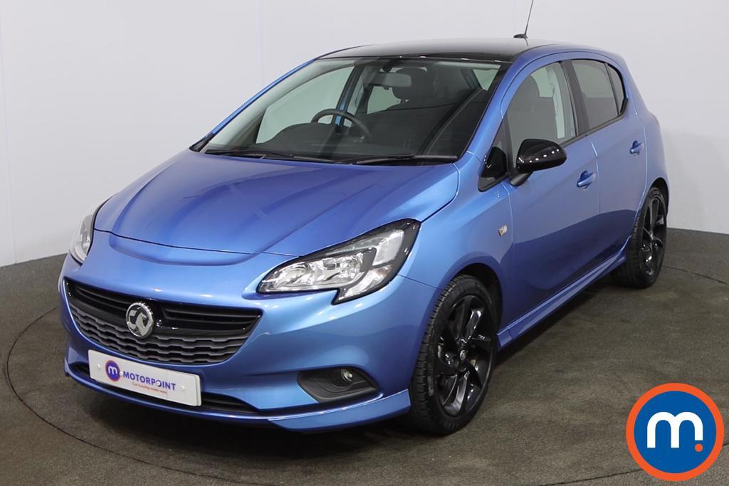 Vauxhall Corsa 1.4 SRi Vx-line Nav Black 5dr - Stock Number 1188565 Passenger side front corner