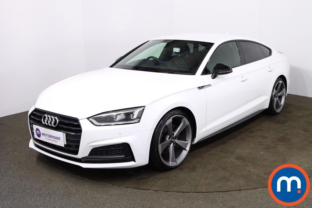 Audi A5 35 TFSI Black Edition 5dr S Tronic - Stock Number 1189226 Passenger side front corner