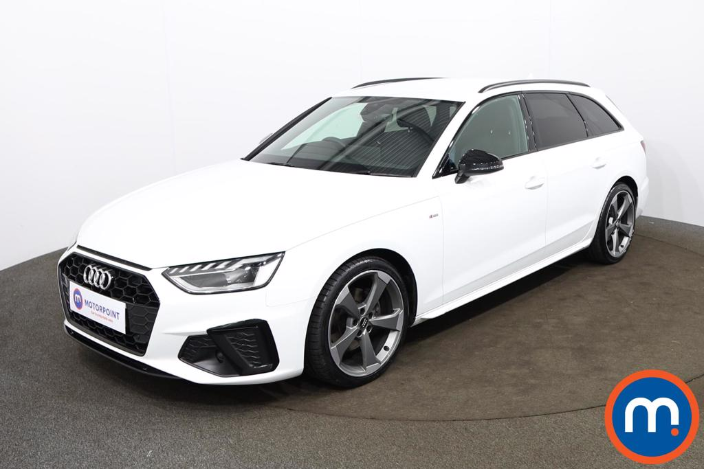 Audi A4 35 TDI Black Edition 5dr S Tronic - Stock Number 1188138 Passenger side front corner