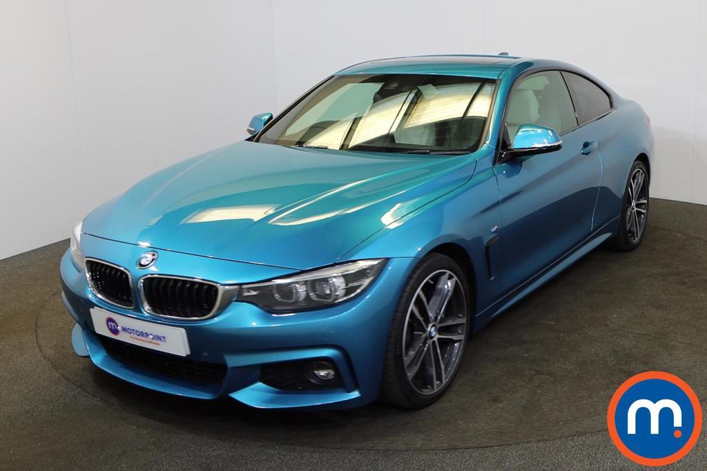 BMW 4 Series 430i M Sport 2dr [Professional Media] - Stock Number 1191963 Passenger side front corner