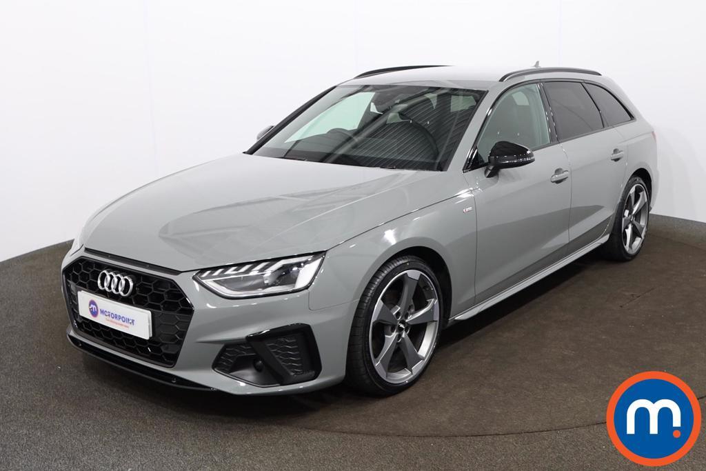 Audi A4 35 TDI Black Edition 5dr S Tronic - Stock Number 1188140 Passenger side front corner