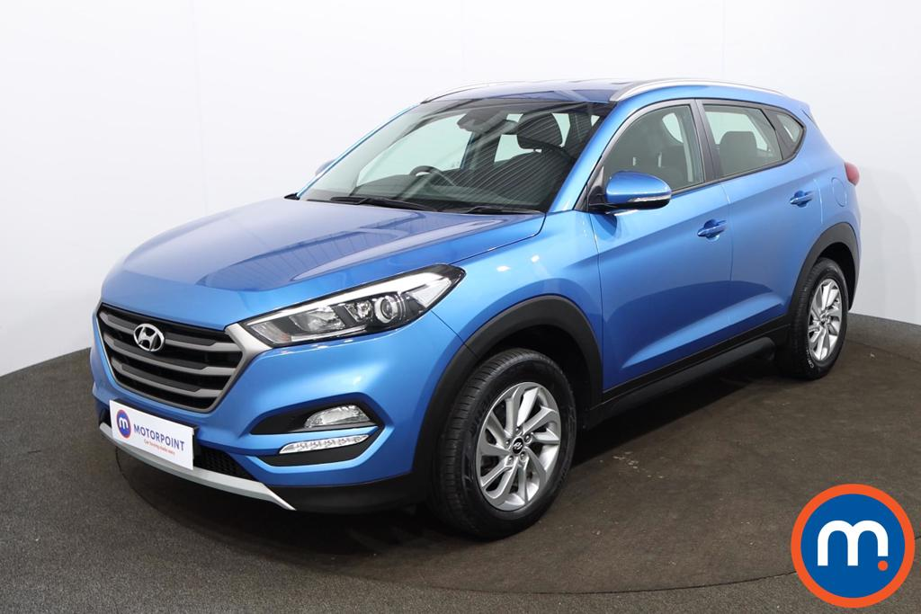 Hyundai Tucson 1.6 GDi Blue Drive SE 5dr 2WD - Stock Number 1187113 Passenger side front corner