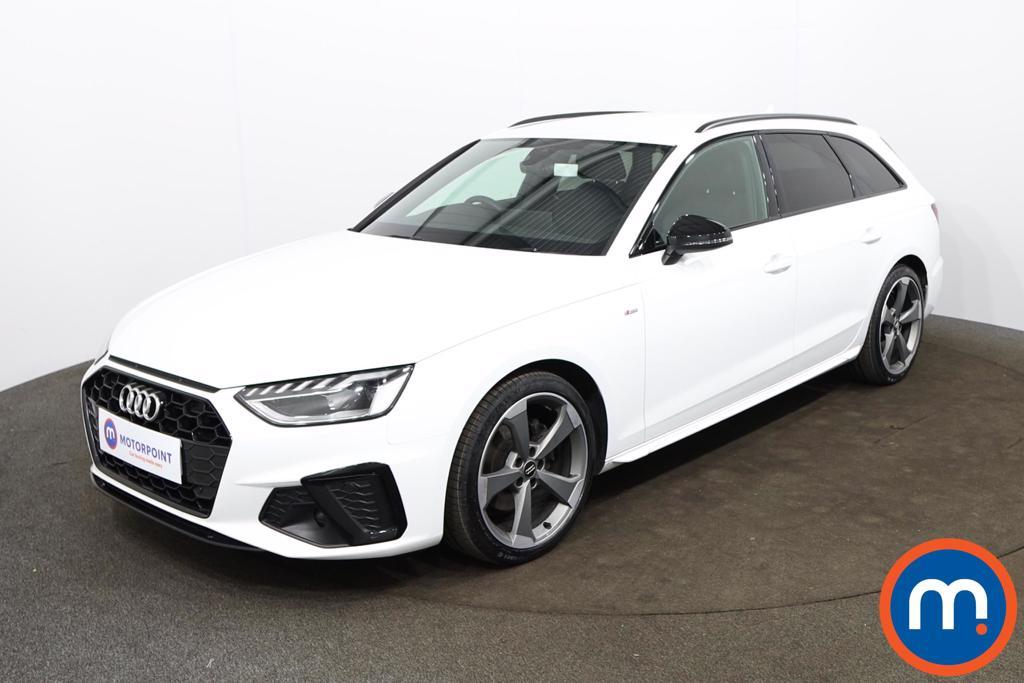 Audi A4 35 TDI Black Edition 5dr S Tronic - Stock Number 1188136 Passenger side front corner