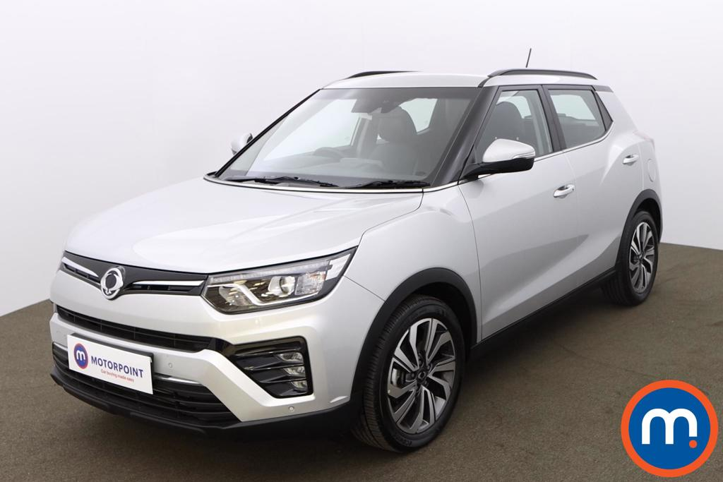 Ssangyong Tivoli 1.5P Ultimate Auto 5dr - Stock Number 1190116 Passenger side front corner